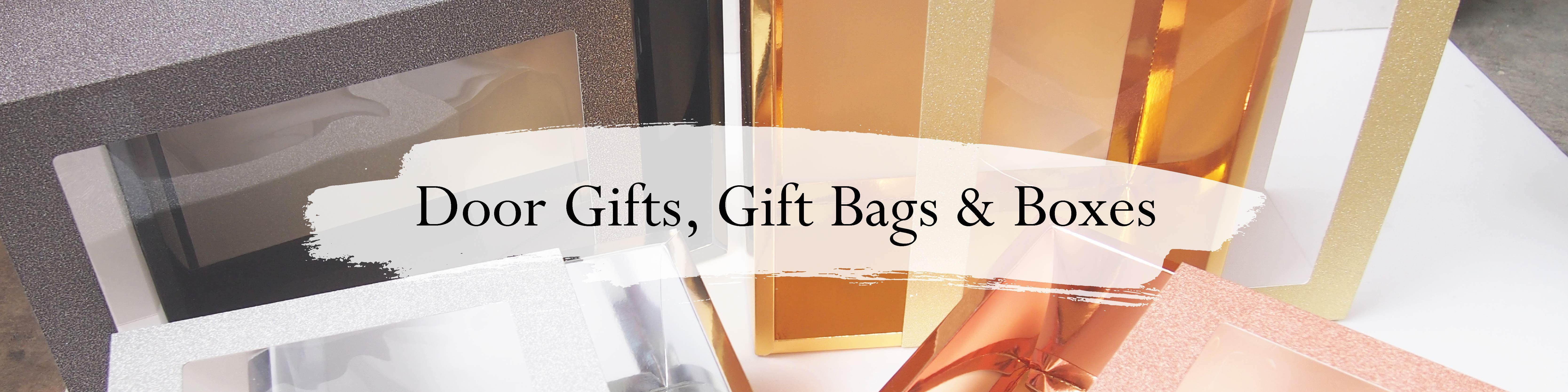 Door Gifts ,Gift Bags & Boxes